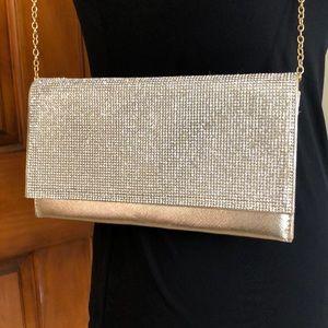 Gold Evening clutch purse